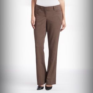 💫4/30 THE LIMITED Brown Straight Leg Dress Pants